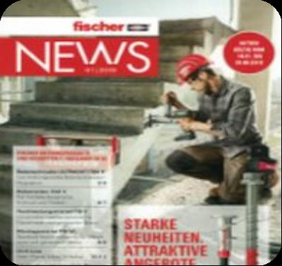 Fischer Neuheiten und News  Hessen/ Rheinlandpfalz Hs RLP BEFESTIGUNGSTECHNIK