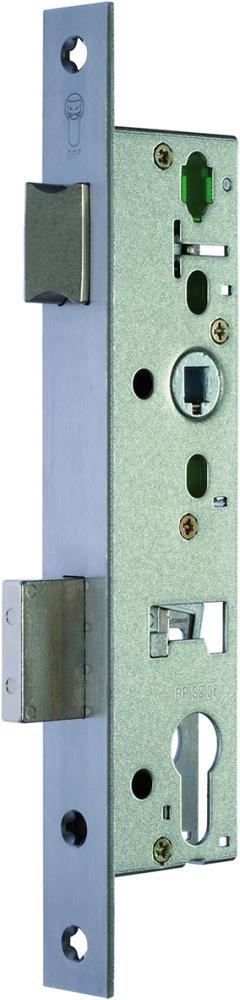 RR-Riegel-Einsteckschloss nach DIN 18251-2 Kl 3 RSk Dorn 30 mm Stulp 24 mm ktg.